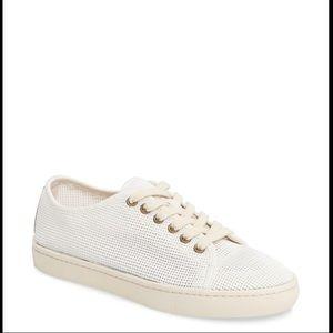 White Soludos sneakers